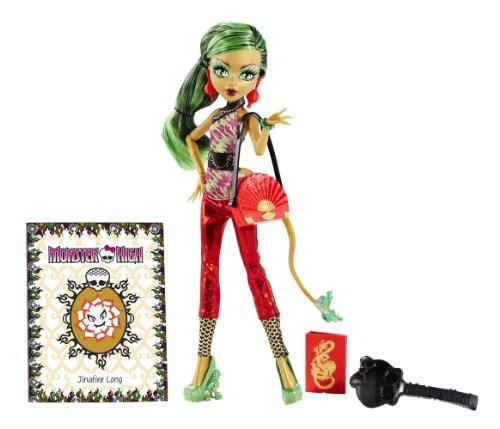 Monster High–bgt37–Puppe–Jinafire Long (Monster High Jinafire Long)