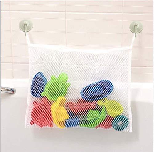 Badewannen-Spielzeugnetz, Bad Spielzeug Organizer, Badewannen Spielzeug Aufbewahrung, Netz mit starken Saugnäpfen