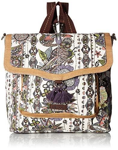 Sakroots Damen Convertible Backpack Colette, konvertierbarer Rucksack, Pastel Spirit Desert, Einheitsgröße