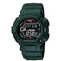 Casio G-Shock Men's Black Dial Resin Band Watch - G-9000-3VSDR