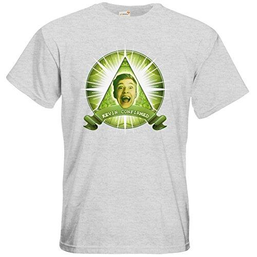 getshirts - Heidelwurst - T-Shirt - Illumicurry Ash