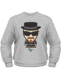 Breaking Bad Heisenberg Minion Grey Sweater Official Licensed TV