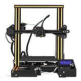 ELEGOO 3D Drucker FDM Ender 3 3D Printer Bausatz V-Slot Prusa i3 Rahmen, für Anfänger und Enthusiasten geeignet