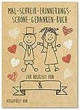 Hochzeitsmalbuch für Erwachsene und Kinder / 10 Stück im Set/Vintage Design tolle Kinderbeschäftigung statt Gastgeschenk oder Gästebuch