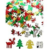 Merry Christmas Arts & Craft Party Table Confetti (Snowflakes, Stars, Christmas Trees etc)
