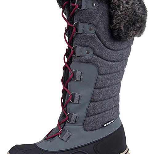 Mountain Warehouse Stivali da neve per donna Frozen Isogrip Grigio