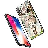 LiangChu 9h Le Verre trempé iphone 7 Plus / 8 et lc-23 Mon Voisin Totoro, Anti - zéro Soft Silicone Conception Impression antichocs sur téléphone Cas pour Apple iphone tpur et 7 Plus / 8