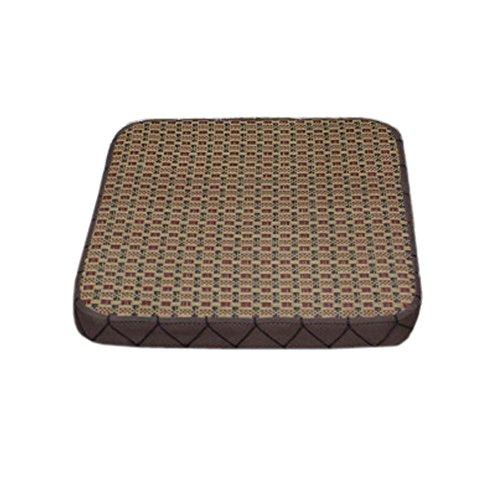 Black Temptation Coussin de Fauteuil en rotin Simples Coussin de sièges épais et extérieurs en carré, Marrons Clairs