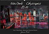 New York Cityscapes 2019 (Wandkalender 2019 DIN A2 quer): New York Cityscapes in Panoramaformat (Monatskalender, 14 Seiten ) (CALVENDO Kunst)