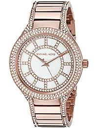 Michael Kors Reloj Analógico para Mujer de Cuarzo con Correa en Acero Inoxidable MK3313