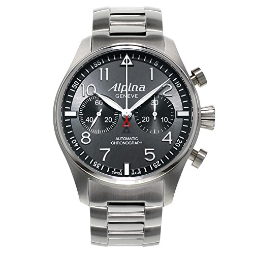 Alpina Startimer Pilot Herren-Armbanduhr 44mm Schweizer Automatik AL-860GB4S6B