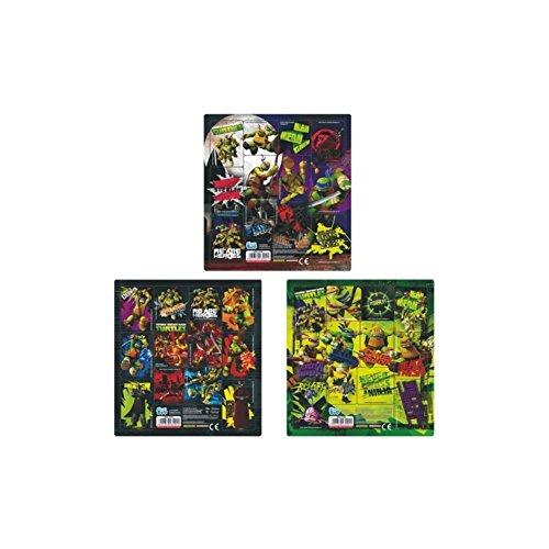 Ninja Turtles 25 Bogen Set TMNT 12er Stickerbogen Sticker Mitgebsel
