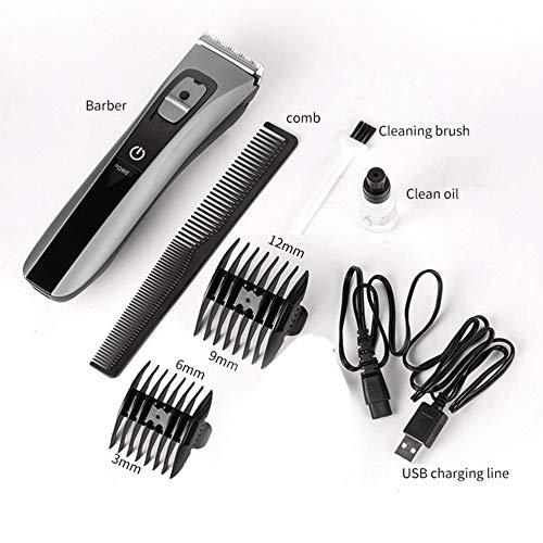 jichui23894 wasserdichte Haushalt Keramik Messerkopf Haarschneider Electric Hair Trimmer - Trimmer Haircut Kit