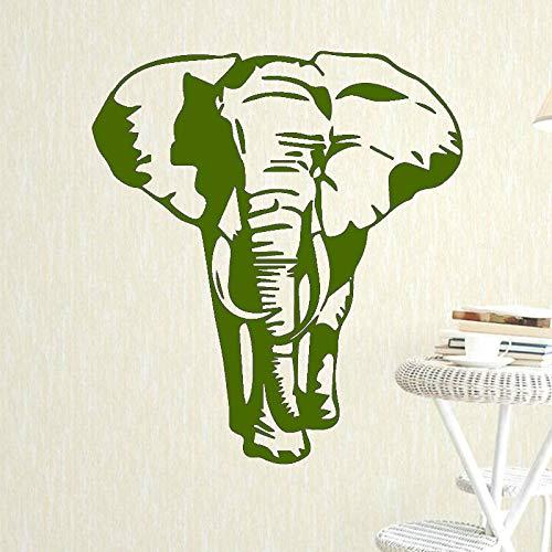 Xingbuxin adesivo da parete con motivo a elefante per ragazzi decorazione camera da letto art design rimovibile impermeabile adesivo da parete vinile decorazioni per la casa poster 5 xl 58 cm x 68 cm