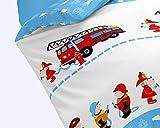 Dream Art Kids Feuerwehrbettwäsche 135 x 200 cm - 2