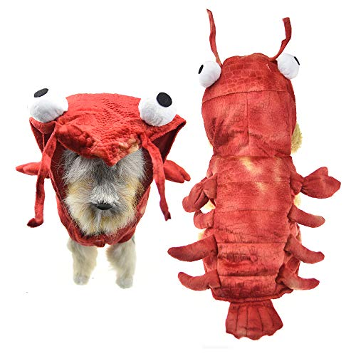 (FLAdorepet Hundekostüm für Halloween, für den Winter, warm, für Kleine und mittelgroße Hunde)