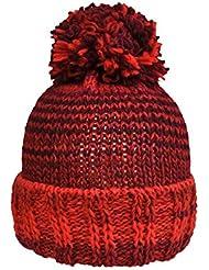 Toutacoo, Bonnet Tricot en Laine Pompon MONT-BLANC - Fabriqué en France