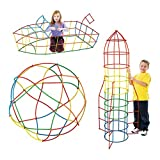 #2: DFS's 4D SPACE STRAW STITCHING BUILDING BLOCKS BRICKS ASSEMBLING TOYS To Build Creative Blocks Toys for Children