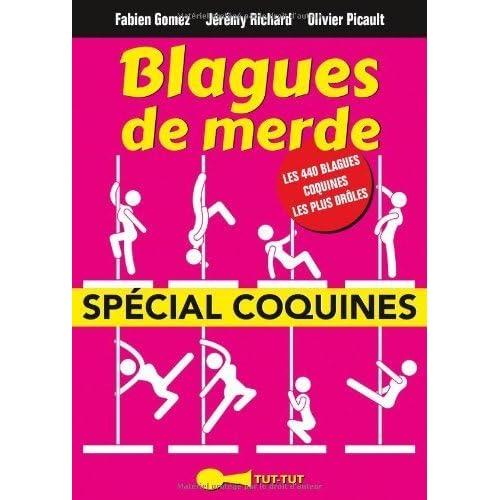 Blagues de Merde spécial coquines de Fabien Gomez (3 juin 2014) Broché