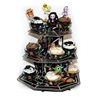 Amscan International ltd 996672 Boo Crew Tier Cup Cake Stand