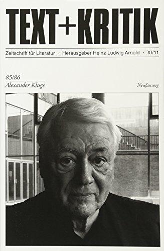 Alexander Kluge (TEXT+KRITIK)