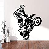 Wandsticker Motorradsticker Art Sticker Wasserdichter Wandsticker Vinylsticker Art Stickerxl 57Cm X...