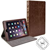 Gmyle Book Case Vintage 360 for iPad Mini - Root Beer Brown