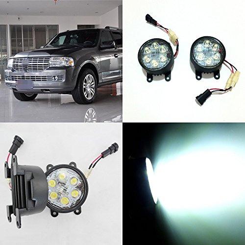 july-king-led-day-running-lights-6500k-1260lm-18w-h11-led-fog-lamps-assemblage-pour-lincoln-navigato
