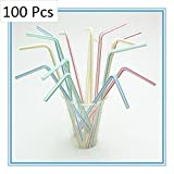 Artistic Bend Straw Pack (Off white (100...