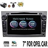 2 G 32 G Android 7.1 4-Core 7' GPS coche reproductor de DVD para Opel Astra Vectra Zafira Antara Corsa Radio Navegación estéreo Audio vídeo color gris con cámara & canbus