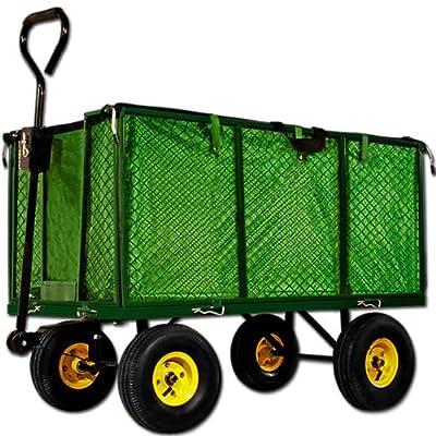 Transportwagen 550 kg - Gartenkarre Bollerwagen Gartenwagen Handwagen Transportkarre Gerätewagen von Deuba® - Du und dein Garten
