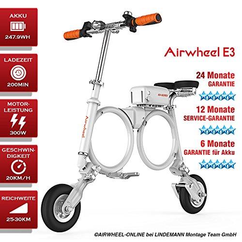 Preisvergleich Produktbild Mini E-Bike Elektrofahrrad Elektroklapprad E-Fahltrad AIRWHEEL E3. TOP QUALITÄT! 24 Monate GARANTIE. 12 Monate GARANTIE-SERVICE! 6 Monate GARANTIE für Akku
