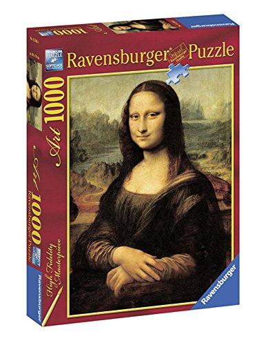 Ravensburger - Arte: Leonardo, La Gioconda, puzzle de 1000 piezas (15296 4)