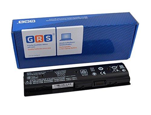 GRS Notebook Akku für HP Pavilion M4, HP ENVY M6, HP dv7, HP dv6, dv4, ersetzt HSTNN-LB3P, 671567-831, MO06, HSTNN-YB3N, MO09,LB3N, TPN-W106, LB3P, TPN-W107 M006, M009 Laptop Batterie 4400mAh/49Wh, 11,1V
