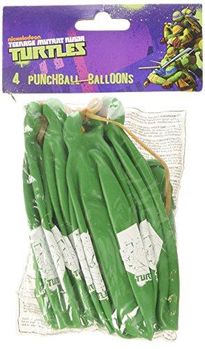 Ninja Turtles 4 Punchingball Luftballons