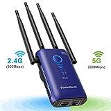 Best Wifi Range Extenders - Prescitech High Power AC1200 Dual Band WiFi Range Review