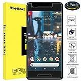 Google Pixel 2 Protection d'écran en verre [Lot de 2], YooGoal Premium 3d Touch téléphone film de protection d'écran en verre trempé pour Google Pixel 2 (Ultra Clear)