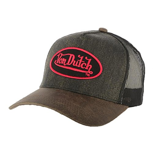 von-dutch-gorra-trucker-von-dutch-rob-marron-hombre-mujer-marron-talla-unica
