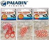 54 Paladin Silikon Stopper Perlen Schnurstopper Spirolino Pose, Forellenangeln, Angeln auf Forelle