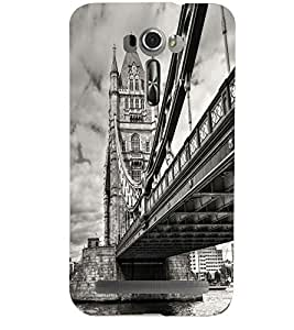 PRINTSHOPPII BRIDGE Back Case Cover for Asus Zenfone 2 Laser ZE601KL::Asus Zenfone 2 Laser ZE601KL (6 Inches)