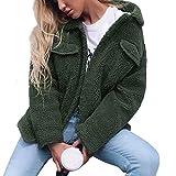 ITISME FRAUEN BLUSE Womens Damen Cardigan Mantel Knopf Taschen Solid Jacke Winter Parka Oberbekleidung
