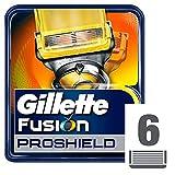 Gillette Fusion ProShield - Recambio de maquinilla de afeitar para hombre, 6 unidades