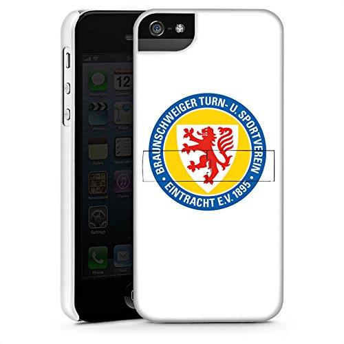 Apple iPhone X Silikon Hülle Case Schutzhülle Eintracht Braunschweig Fanartikel BTSV Fußball Premium Case StandUp