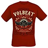 Volbeat Western Wings T-Shirt rot XL