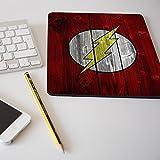 Alfombrilla para ratón regalo original diseño Flash efecto madera superhéroe