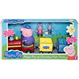 Peppa Pig sur Grandpa Cochons train