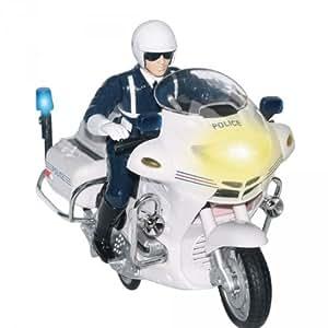 Moto de police à friction