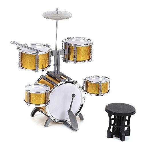 ammoon-taille-compacte-tambour-jouet-musical-instrument-set-enfants-5-drums-avec-petits-cymbal-tabou
