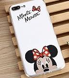 Coque iPhone 5/5S SE Minnie Disney effet miroir