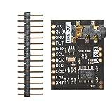 diymore pcm5102 a DAC Digital-Analog Konverter Stereo Audio Decoder 32bit I2S Sound Karte Stimme Player Development Board Modul mit 3,5 mm Stereo Klinkenstecker für Raspberry Pi Phat